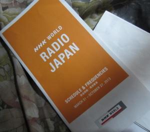 Pamflet Radio Jepang NHK World
