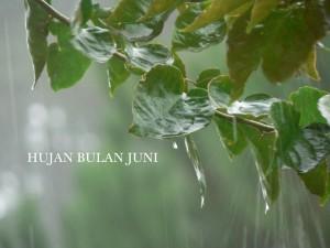hujan bulan juni